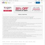 20% off Sitewide @ Kogan eBay