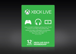 Xbox Live Gold Membership US $45 (~AUD $60) @ StackSocial