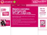 PRICELINE 20% off all cosmetics and skincare April 13th & 14th only!!