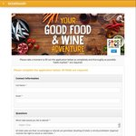 2x Free Tickets Melbourne Good Food & Wine Show 3-5 June 2016