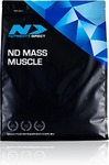 25% off ND Mass Muscle 1kg Varieties, $12 Capped Shipping at Nutrients Direct