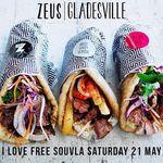 Zeus Street Greek Gladsville Free Pitas (12pm-3pm, 21st May) (NSW)