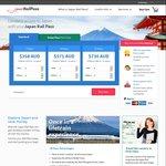 Japan Rail Pass 7 Days $358 AU @ JRailPass.com