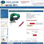 Hitachi CJ18DSL (H4) - 18V Cordless Jigsaw Skin Slide Li-ion for $155 Shipped @ C&L Tool Centre