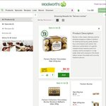 Ferrero Rocher 16pk/200g Half Price $6.30 @ Woolworths