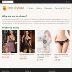 10% off at Tapuz Lingerie + Free Delivery