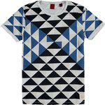 SCOTCH & SODA Geometric T-Shirt (M and L Only) @ Archfashion for $3.60 + $7 Shipping
