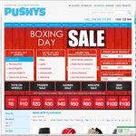 Pushys Boxing Day Sale Various Deals on Bikes, Helmets, Shoes, Clothing