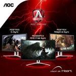 """Win 1 of 7 AOC AGON AG322FCX 31.5"""" FreeSync Curved Gaming Monitors Worth $499 from AOC Monitor ANZ"""