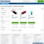 Emtec Click 64GB USB 3.0 Flash Drive - Black/Red/Blue - $20 C&C @ Harvey Norman