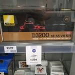 Nikon D3200 VR 18-55 Kit Red $399 (Was $599) Big W