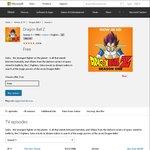 FREE Anime: Dragon Ball Z HD (39 Episodes) / Fairy Tail HD (12 Episodes) / Hamatora HD (12 Episodes) @ Microsoft
