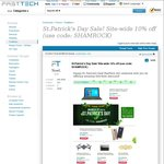10% off Site-Wide at FastTech for St Patrick's Day