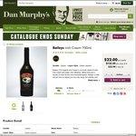 Baileys Irish Cream 700ml $22.00 @ Dan Murphy's