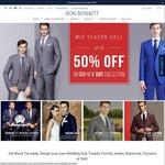 Suits & Shirts Half Price @ Ron Bennett