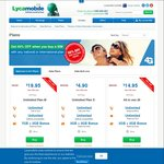 Lycamobile.New SIM Purchase - 6GB Data, Unlimited Local Calls & International Calls (Selected Countries) @ $4.90 (was $14.90)