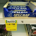 HPLC Protein Bars - 4 for $10 @ Woolworths