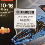 LEGO 42066 Air Race Jet $139.99 Melbourne In-store (Build & Play Australia)