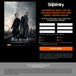 Win 1 of 50 The Dark Tower Movie Double Passes (Instantly) or a $3K Sony Entertainment Package (Draw) from Superdry