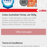 Free Coles Australian Honey Jar (500g) Worth $6 with Flybuys