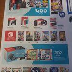 Nintendo Switch + 1 Game (Mario Kart, Mario + Rabbids, or Pokken Tournament) $499 @ Big W