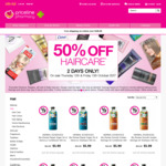50% off Hair Care Products @ Priceline