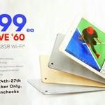 Apple iPad 32GB Wi-Fi $399 @ Big W ($379 with WISH cards - Starts 24/11)