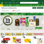 Woolworths Online $20 off (Min $200)