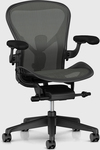 Aeron Remastered Size B with Graphite Base and Frame $1290, Free Shipping @ Living Edge