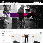 adidas Australia Outlet Extra 20% off + Free Shipping (No Minimum Spend)