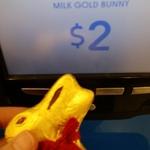 Lindt Gold Bunnies $2 (Was $5) @ Kmart