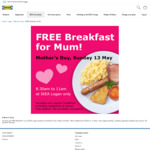 [QLD] Mum's Free Breakfast Sunday 13 May @ IKEA Logan