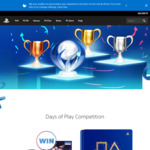 Win a Limited Edition Days of Play PlayStation 4 Bundle Worth $2,345.90 or 1 of 3 12-Mth PlayStation Plus Memberships from Sony