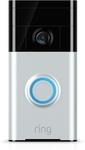 Ring Satin Nickel Video Doorbell $108 (Was $147) @ Bunnings Warehouse