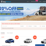 20% OFF Alamo Car Rental Deals from $21.96/Day @ EasyRentCars