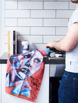 Street Art Tea Towels - $15 (Was $29.99) + Free Shipping @ Neon Pear