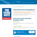 Access to The Good Guys Commercial via G'Day Rewards [Membership Required]