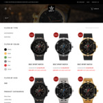 50% off Watches @ Unit Clothing