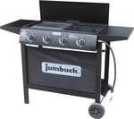 Jumbuck 4 Burner Flat Top Urban BBQ $99 @ Bunnings