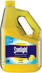 Sunlight Dishwashing Liquid Lemon 4L $10 (Was $14) @ Big W ($2.50/L)