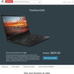 """ThinkPad E585 (15.6"""" FHD/Ryzen 5/8GB/256GB) $829; E485 (14""""FHD/Ryzen 5/8GB/128GB) $739 @ Lenovo AU (+12% Cashback @ ShopBack AU)"""