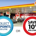 Flybuys/Coles Express: Save $0.10/L on Every Petrol Purchase (Excluding LPG and Diesel) @ Coles Express