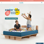 15% off All Bedding Products (Mattress, Pillows, Bed Frames etc) @ Koala