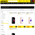 Apple iPhone 6S 32GB $429 (Telstra Prepaid) / iPhone 7 128GB $749 (Outright) C&C /+ Delivery @ JB Hi-Fi
