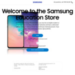 Samsung Galaxy S9 64GB $649.35 (OOS), Note 9 512GB $1,169.35, Free Delivery @ Samsung Education Store and EPP Store