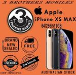 [eBay Plus] iPhone XS Max 256GB Space Grey $1725 Delivered (AU Stock) @ 3 Brothers Mobiles eBay