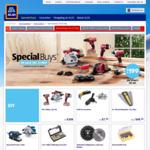 Xfinity 20V - 7 Piece Tool Set (Impact Driver, Drill, Sander, Saw, Torch + Batteries) $199, Coffee Machine $299 @ ALDI