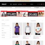 70% off Men's & Women's Clothing @ Volley