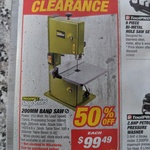 Rockwell Shop Series 200mm Band Saw - (50% off) $99.49 @ Supercheap Auto (Excludes WA, Select Stores Only)