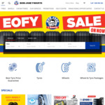 Buy 3 Tyres and Get The 4th Free (Dunlop, Hankook, Nitto) @ Bob Jane